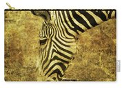 Golden Zebra  Carry-all Pouch