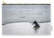 Goldeneye On Ice's Edge Carry-all Pouch