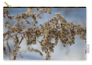 Goldenrod In The Snow Carry-all Pouch