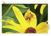 Goldenrod Soldier Beetle Carry-all Pouch