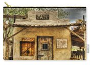 Goldfield Ghost Town - Jail  Carry-all Pouch