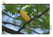 Goldfinch In Oak Tree Carry-all Pouch
