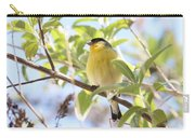 Goldfinch In Spring Tree Carry-all Pouch