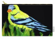 Goldfinch In The Garden Carry-all Pouch