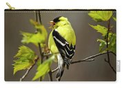 Goldfinch Suspended In Song Carry-all Pouch