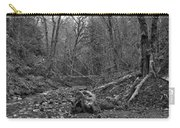 Goldstream Provincial Park Black And White Carry-all Pouch