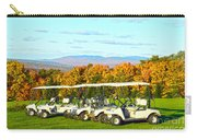Golf Carts On Vermont Golf Course Carry-all Pouch