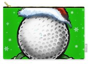 Golf Christmas Carry-all Pouch