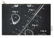 Golf Club Patent 1910 Chalk Carry-all Pouch