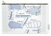 Golf Clubs Patent Drawing Carry-all Pouch