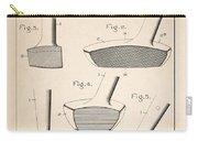 Golf Clubs Patent - Patent Drawing For The 1903 A. F. Knight Golf Clubs Carry-all Pouch