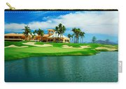 Golf Course At Isla Navadad Resort Carry-all Pouch