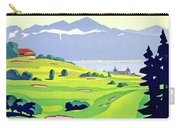 Golf, Lausanne, Switzerland, Travel Poster Carry-all Pouch