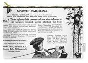 Golf: Pinehurst, 1916 Carry-all Pouch