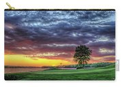 Golf Sunset Number 4 The Landing Reynolds Plantation Golf Art Carry-all Pouch
