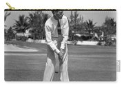 Golfer Teeing Off, Miami, Florida Carry-all Pouch
