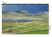 Golfing And Grazing Carry-all Pouch
