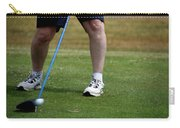 Golfing Driving The Ball In Flight Carry-all Pouch