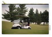 Golfing Golf Cart 01 Carry-all Pouch