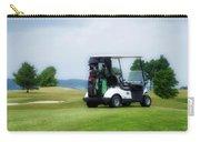 Golfing Golf Cart 03 Carry-all Pouch