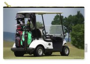 Golfing Golf Cart 05 Carry-all Pouch