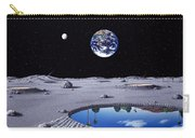 Golfing On The Moon Carry-all Pouch