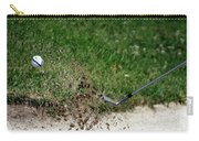 Golfing Sand Trap The Ball In Flight 01 Carry-all Pouch