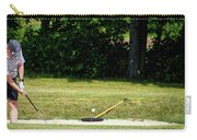 Golfing Sand Trap The Ball In Flight 02 Carry-all Pouch