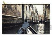gondola - Venice Carry-all Pouch by Joana Kruse