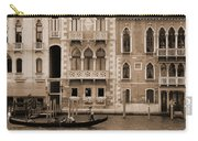 Gondola Crossing Grand Canal Carry-all Pouch