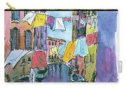 Gondola In A Venetian Canal Carry-all Pouch