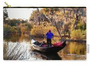 Gondola In City Park Lagoon New Orleans Carry-all Pouch
