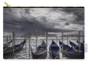 Gondolas In Front Of San Giorgio Island Carry-all Pouch