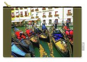 Gondoliers In Venice Carry-all Pouch