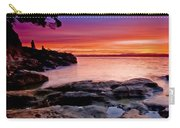 Gone Fishing At Sunset Carry-all Pouch