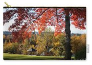 Gonzaga With Autumn Tree Canopy Carry-all Pouch by Carol Groenen