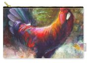 Gonzalez The Rooster Carry-all Pouch by Talya Johnson