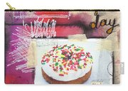Good Day Donut- Art By Linda Woods Carry-all Pouch