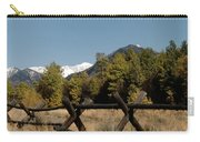Good Fences Make Good Neighbors .... Robert Frost Carry-all Pouch