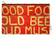 Good Food Carry-all Pouch by Michelle Calkins
