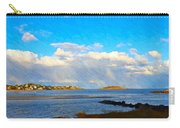Good Harbor Clouds And Sun Carry-all Pouch