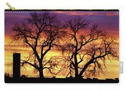 Good Morning Cows Colorful Sunrise Carry-all Pouch