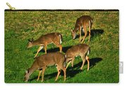 Good Morning Deer Carry-all Pouch