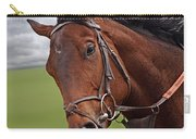 Good Morning - Racehorse On The Gallops Carry-all Pouch