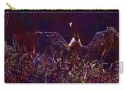 Goose Bird Wildlife Nature Fly  Carry-all Pouch