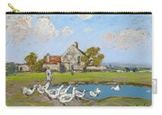 Goose Girl At Sablons Carry-all Pouch