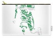 Gordon Hayward Boston Celtics Pixel Art 10 Carry-all Pouch