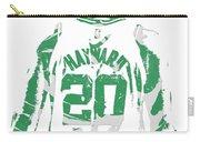Gordon Hayward Boston Celtics Pixel Art T Shirt 5 Carry-all Pouch