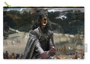 Gordon Setter Art Canvas Print - Philip Iv Hunting Wild Boar  Carry-all Pouch
