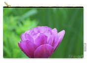 Gorgeous Blooming And Flowering Dark Pink Parrot Tulip Carry-all Pouch